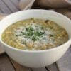 Chickpea & Leek Soup – and holiday recipes …