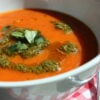 Roasted Tomato and Red Pepper Soup – and what is your 'normal' soup? …