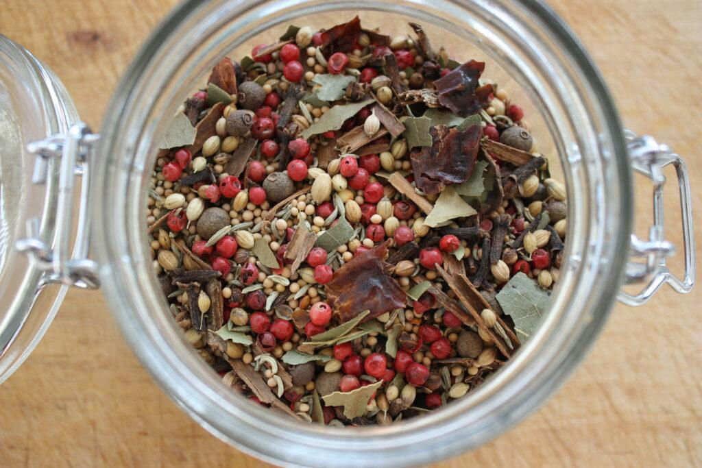 Pickling Spice in jar
