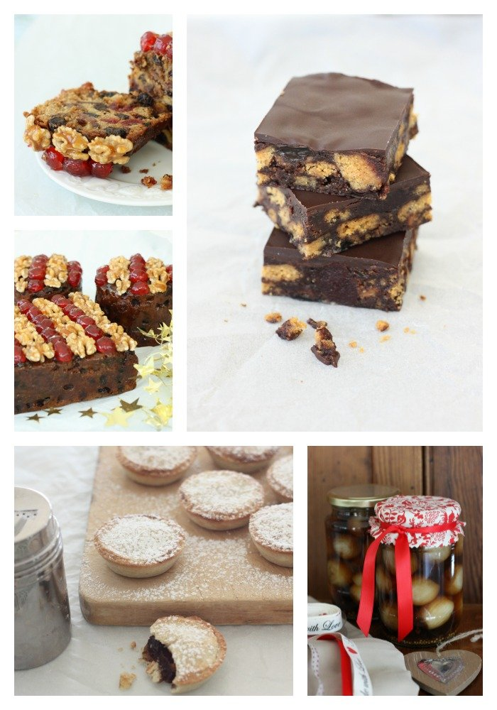 Christmas treats Collage