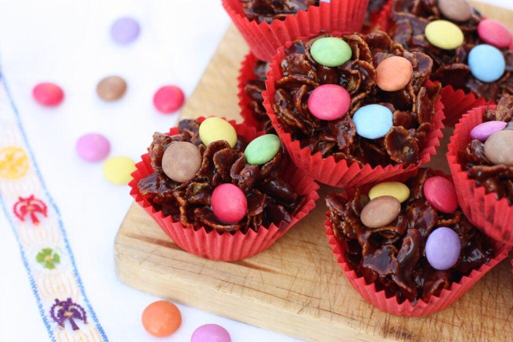 Chocolate Cornflake Cakes - cover