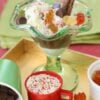 Easy Chocolate Fudge Sauce – and celebratory ice cream sundaes …