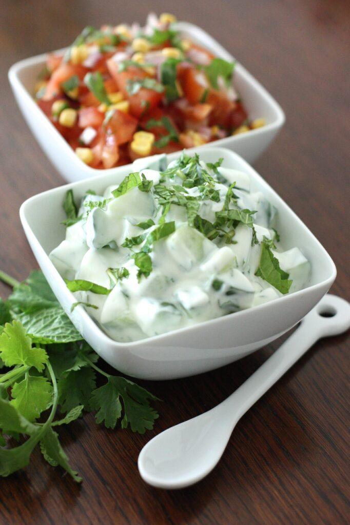 Mixed Lentil Dhal - raita