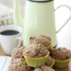 Overnight Date and Granola Muffins – and being a tiny bit prepared …