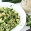 Quinoa, Soya Bean and Avocado Salad – and what I learned about 'Pot Luck' …