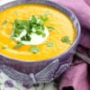 Sweet Potato, Ginger and Coconut Soup – and doing the prep …