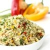 Bulgur Wheat and Pepper Salad – and easy does it …
