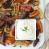 Honey Roasted Carrots with tahini yoghurt – and loving the RIPE Market …