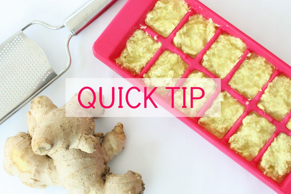frozen-ginger-quick-tip-words