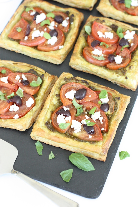 Tomato and Pesto Tarts - and oh so very easy ... - marmalade and me