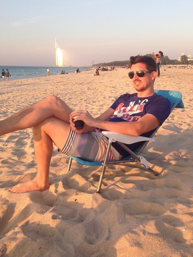 my-lovely-husband-on-the-beach
