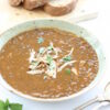 Chicken and Puy Lentil Soup – and full on cosiness …
