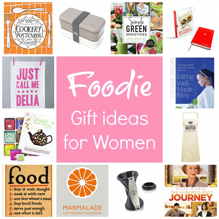 Foodie Gift Ideas For Women 30 Day Countdown To