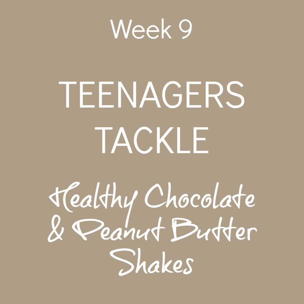 week9-teenagers-tackle-chocolate-peanut-butter-shakes