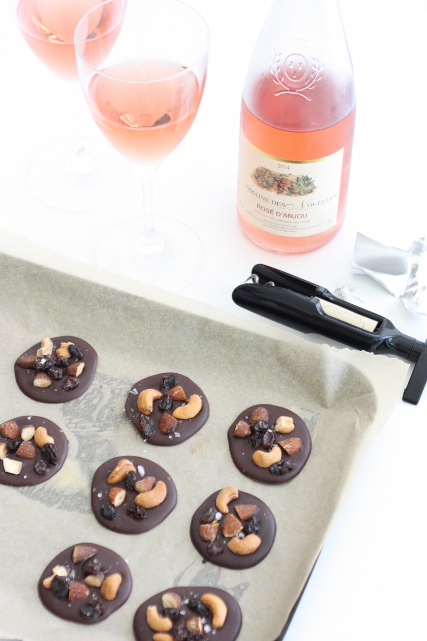 Salted Fruit & Nut Chocolate Coins - and being classy ... - marmalade ...