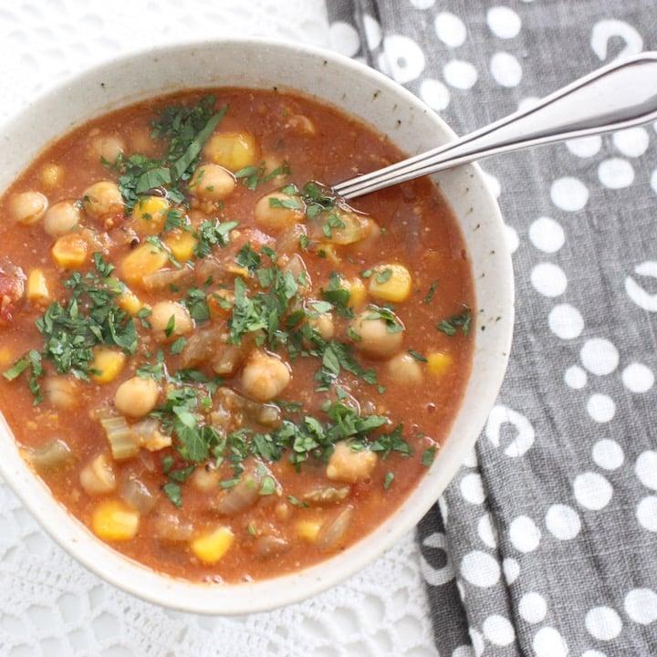 Moroccan Chickpea Soup Recipe — Dishmaps