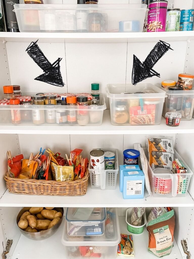 Storing where the top of the lids can easily be seen is a way to better organise your spices